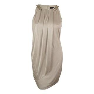 Jessica Howard Women's Sleeveless Embellished Dress - 14