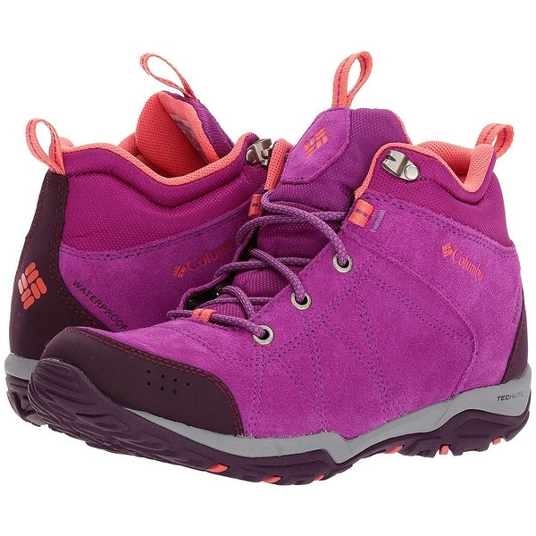 4f643f01dd57 Shop Columbia Women s Fire Venture Mid Waterproof Hiking Boot - Free ...