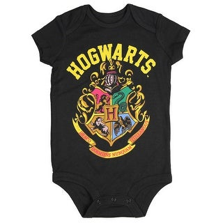 Harry Potter Hogwarts School Crest Unisex Baby One Piece Snapsuit