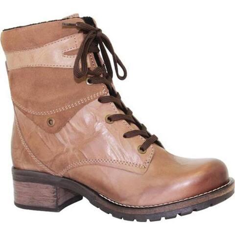 Dromedaris Women's Kara Boot Taupe Leather