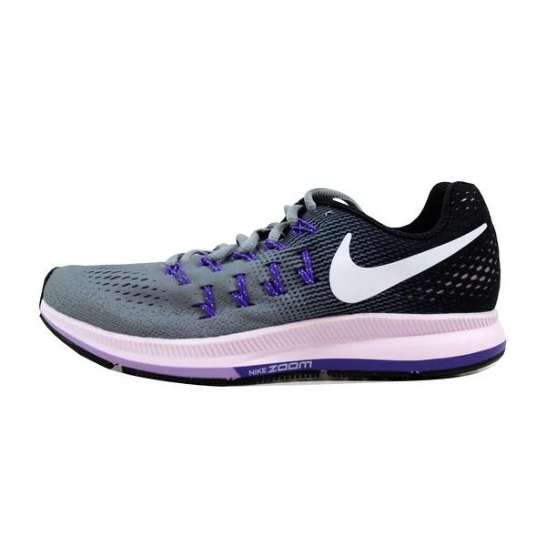 Shop Nike Women's Air Zoom Pegasus 33 Dark GreyPink Blast