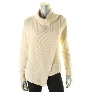 360 Sweater Womens Cardigan Sweater Open Drape Hook Closure