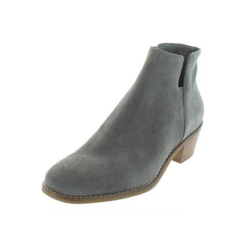 Cole Haan Womens Abbot Booties Suede Ankle