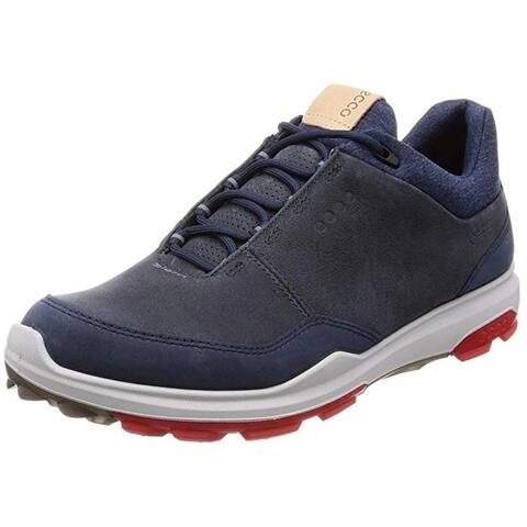 Ecco Mens Biom Hybrid 3 Ombre Yak Nubuck Gore-Tex 41 EU 7-7.5 Golf Shoes
