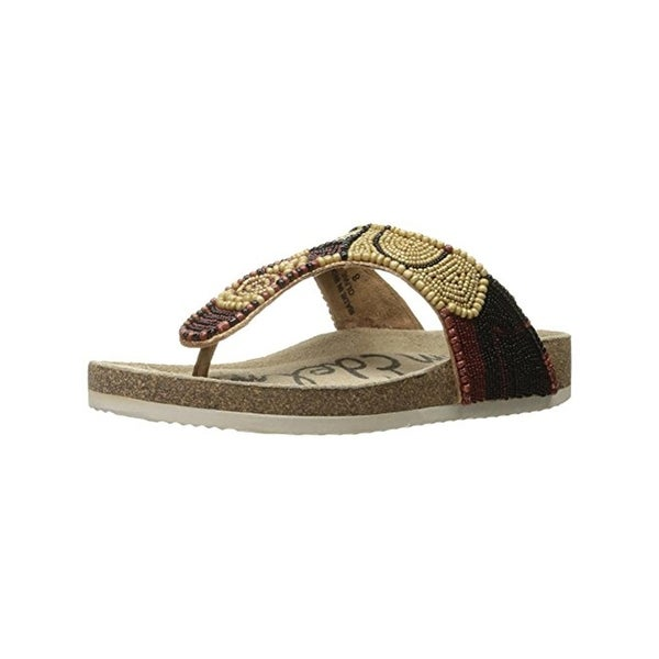 Sam Edelman Womens Olivie Flat Sandals Thong Open Toe