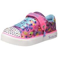 d08359370d17 Kids Skechers Kids Girls Twinkle Breeze 2.0 Low Top Slip On Fashion Sneaker  - 3 M