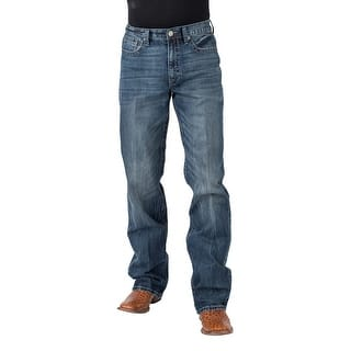 Tin Haul Western Jeans Mens Reg Fit Med Wash 10-004-0420-1811 BU|https://ak1.ostkcdn.com/images/products/is/images/direct/b4e435fcb090466e8e943a6324fed00e56962688/Tin-Haul-Western-Jeans-Mens-Reg-Fit-Med-Wash-10-004-0420-1811-BU.jpg?impolicy=medium