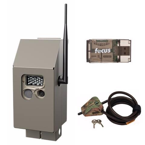 Cuddeback CuddeSafe Security Box for J-Series Trail Cam and Lock Kit