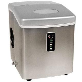 EdgeStar IP210 12 Inch Wide 2.5 Lbs. Capacity Portable Ice Maker with 28 Lbs. Da