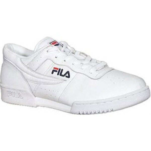 size 40 35eb4 a7332 Shop Fila Men s Original Fitness 11F16LT Sneaker White - On Sale - Free  Shipping Today - Overstock - 20746895