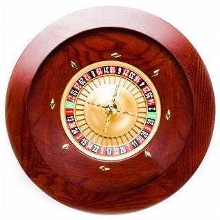 Brybelly Holdings 19.5 in. Casino Grade Deluxe Wooden Roulette Wheel
