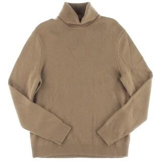Michael Kors Mens Pullover Sweater Cashmere Turtleneck - L