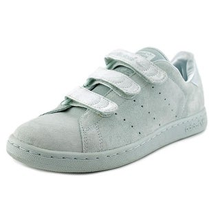 Adidas Stan Smith CF C Youth Round Toe Leather Blue Sneakers