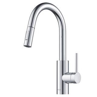 Kraus KPF-2620 Oletto 1-Handle 2-Function Sprayhead Pull Down Kitchen Faucet