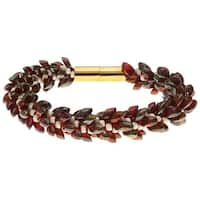 Deluxe Beaded Kumihimo Bracelet (Marsala) - Exclusive Beadaholique Jewelry Kit