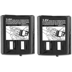 Replacement 53617 3.6v Battery for Motorola MB140R / TalkAbout MH230R / SX800 Radio Models (2 Pack)