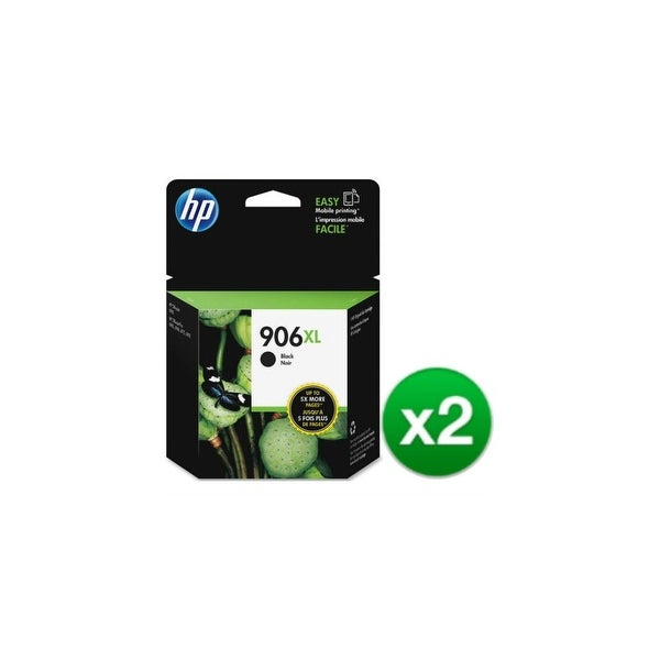 HP 906xl Original Ink Cartridge - Black (T6M18AN) (2-Pack)