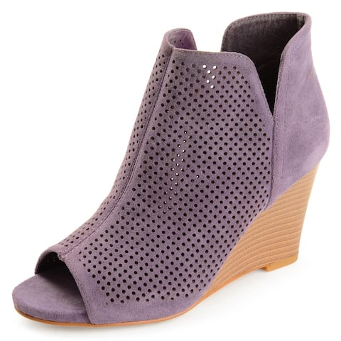 Journey + Crew Womens Wedge Bootie