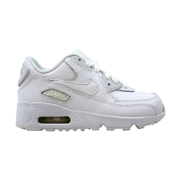 best sneakers cd6a4 f6d38 Nike Air Max 90 LTR PS White White 833414-100 Pre-School