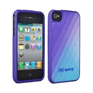 Speck Fitted Hard Case with Fabric for Apple iPhone 4 / 4S (Purple)
