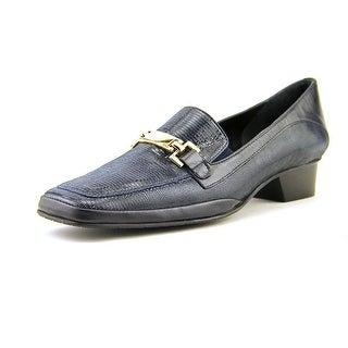 Amalfi By Rangoni Frizzy Square Toe Leather Loafer