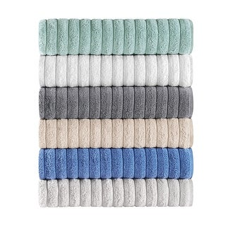 Link to Classic Turkish Cotton Ribbed Bath Sheet Towel (Set of 3) - 40x65 Similar Items in Towels