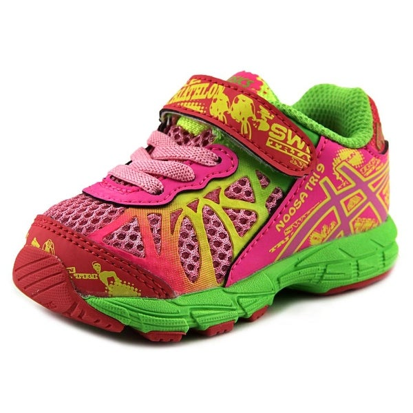 Asics Noosa Tri 9 TS Infant Round Toe Synthetic Pink Running Shoe