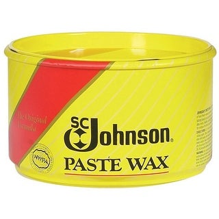S C Johnson 00203 Wood Floors Paste Wax, 1 Lb