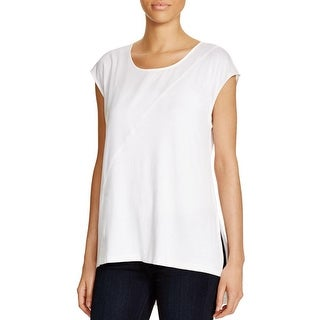 Love Scarlett Womens Casual Top Jersey Hi-Low