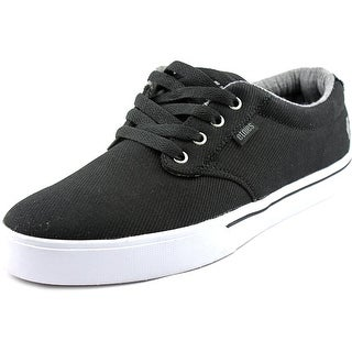 Etnies Jameson 2 Eco Men Round Toe Canvas Black Skate Shoe
