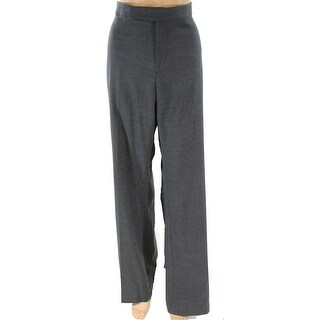 Ralph By Ralph Lauren NEW Gray Womens Size 16 Wool Stretch Dress Pants