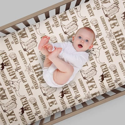Glenna Jean Carson Fitted Crib Sheet