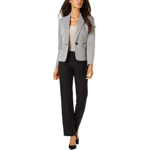 Le Suit Womens Pant Suit Professional Business Wear