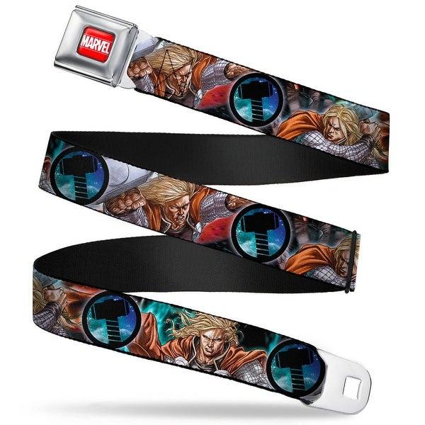 Marvel Universe Marvel Full Color Red White Astonishing Thor #3 Poses Seatbelt Belt