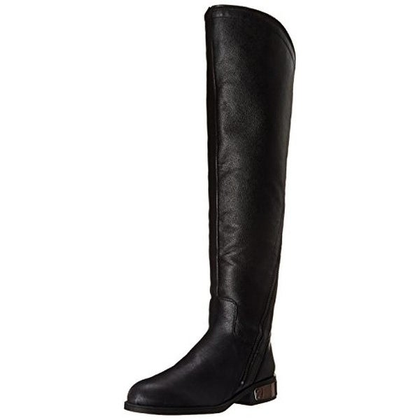 Fergie Womens Navaro Leather Over-The-Knee Riding Boots