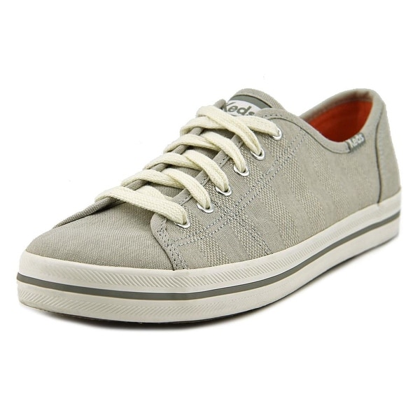 Keds Kickstart Women Round Toe Canvas Gray Sneakers