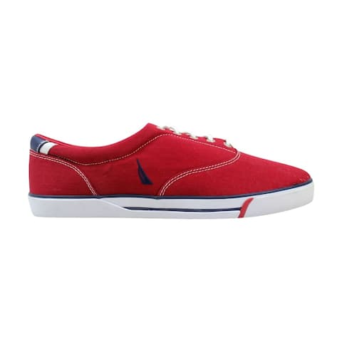 Nautica Men's Canvas CVO Red NM125R Size 13