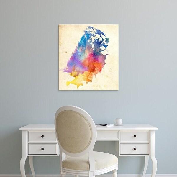 Easy Art Prints Robert Farkas's 'Sunny Leo' Premium Canvas Art