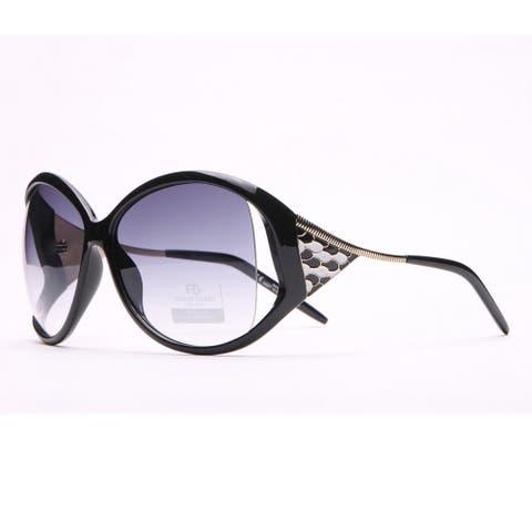Anais Gvani Oversized Fashion Sunglasses W/ Pop Out Mosaic Design By Dasein