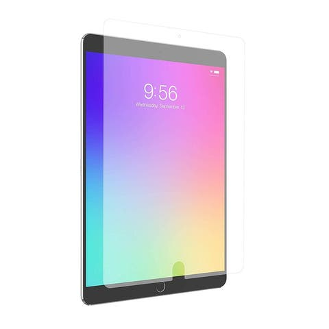 "Zagg InvisibleShield Glass+ VisionGuard Screen Protector - Blocks Harmful Light And 99% UV Light for Apple iPad 9.7"" - Clear"