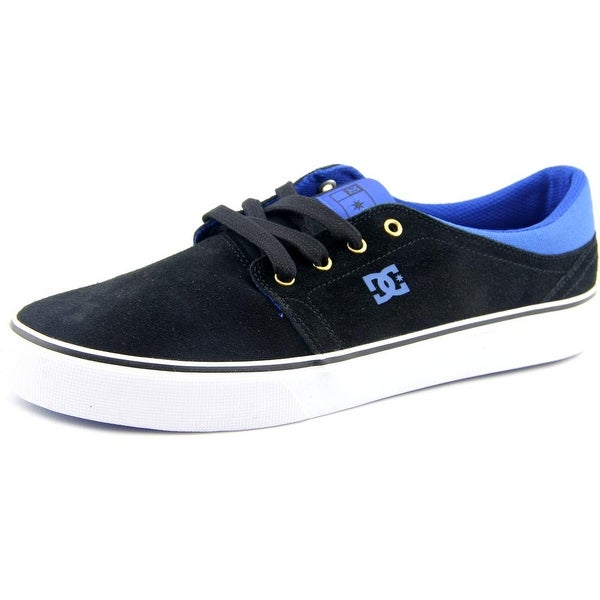 DC Shoes Trase S Round Toe Leather Skate Shoe