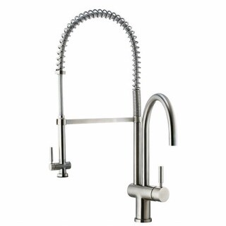 Vigo VG02006ST Stainless Steel Pull-Down Spray Kitchen Faucet