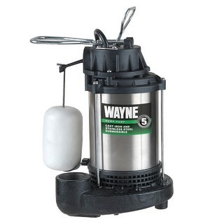 WAYNE CDU 1000  1 HP Cast Iron Submersible Sump Pump with Automatic Switch