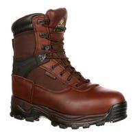 """Rocky Men's 8"""" Rebels 6486 Boot Dark Brown"""