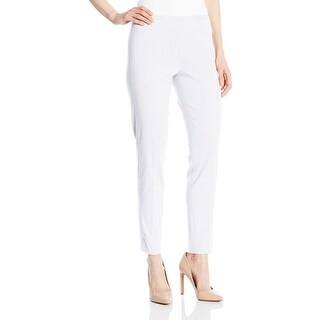 T Tahari NEW White Women's Size 10 Ankle Length Capris Cropped Pants