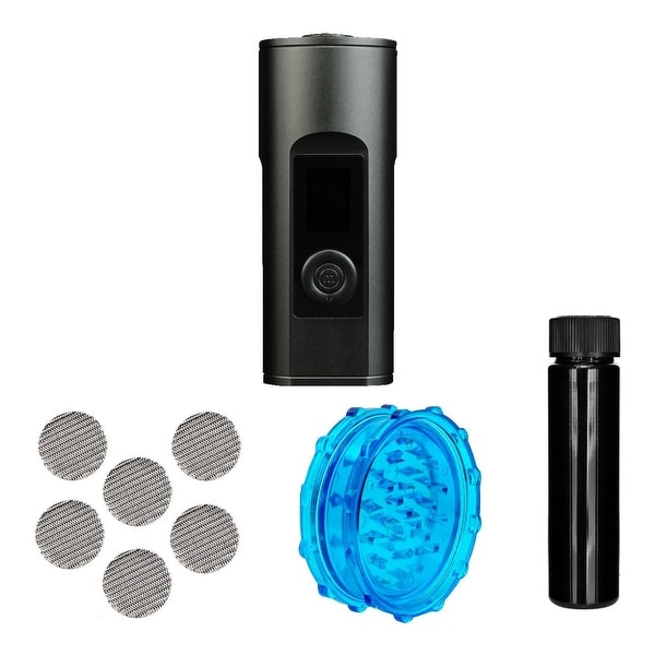 Arizer Solo 2 Portable Handheld Aromatherapy Device (Carbon Black) w/accessories