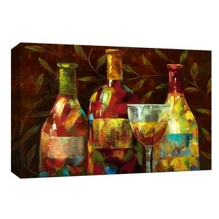 "PTM Images 9-147986  PTM Canvas Collection 8"" x 10"" - ""Napa I"" Giclee Leaves Art Print on Canvas"