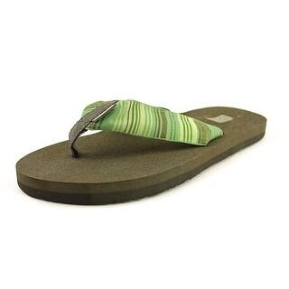 Teva Mush II Men Open Toe Synthetic Green Flip Flop Sandal
