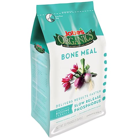 Jobes 09326 Organic Bone Meal Fertilizer, 4 Lbs