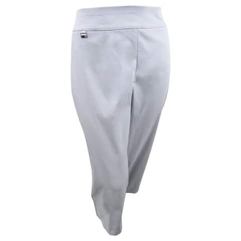 Alfani Women's Plus Size Pull-On Capri Pants